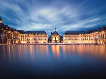 Fly til Bordeaux