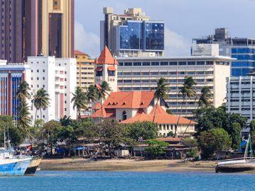 Fly til Dar es Salaam
