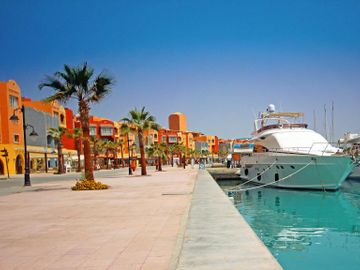 Fly til Hurghada