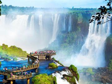 Fly til Iguazu