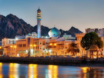 Fly til Muscat