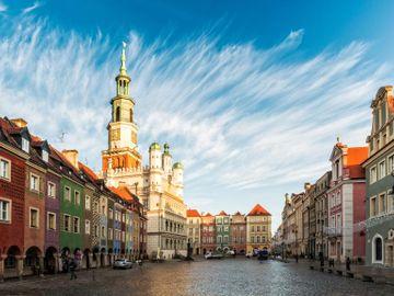 Fly til Poznan