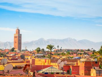 Fly til Marrakech