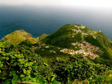 Flygresor till Saba