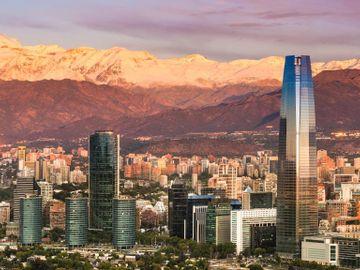 Fly til Santiago