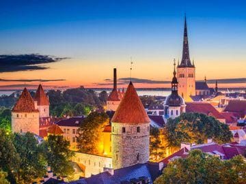 Pakkereiser til Tallinn