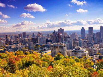 Fly til Montreal