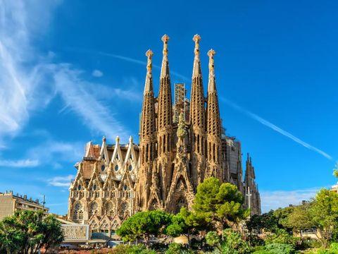 Fly til Barcelona