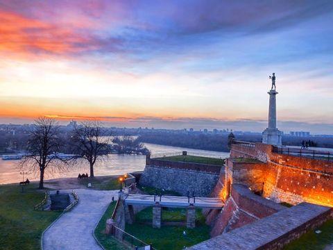 Flybilletter til Serbia