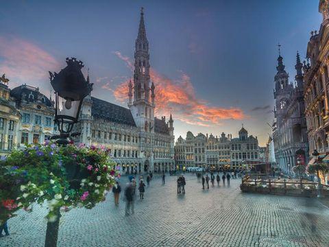 Flybilletter til Brussels