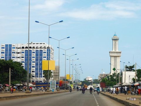 Flybilletter til Benin