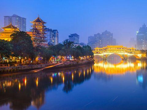 Flybilletter til Chengdu