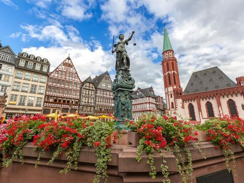 Fly til Frankfurt