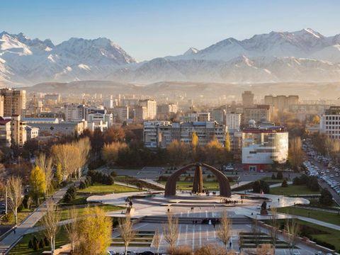 Flybilletter til Kirgisistan
