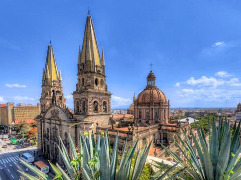 Flybilletter til Guadalajara