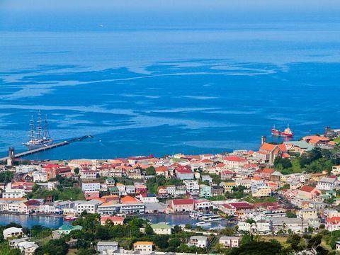 Flybilletter til Grenada