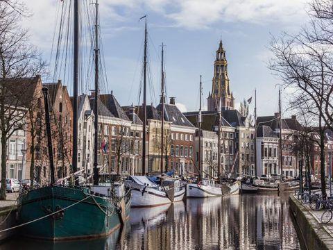 Fly til Groningen