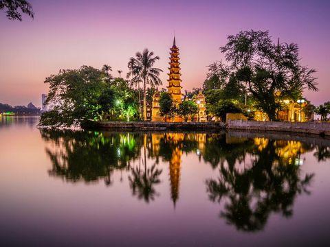 Flybilletter til Hanoi