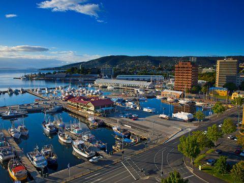 Flybilletter til Hobart