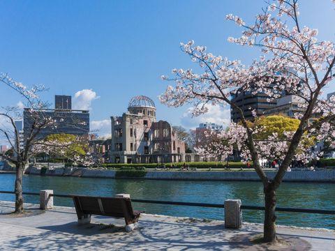 Flybilletter til Hiroshima