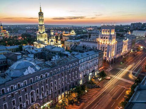 Flybilletter til Kharkiv