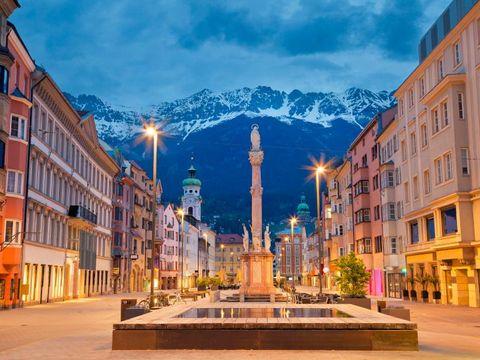 Flybilletter til Innsbruck