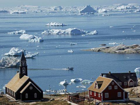 Flybilletter til Ilulissat