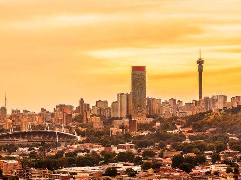 Flybilletter til Johannesburg