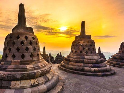 Flybilletter til Yogyakarta