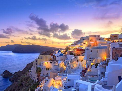 Pakkereiser til Santorini
