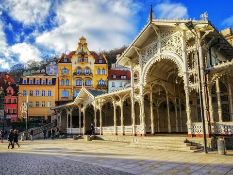 Flybilletter til Karlovy Vary