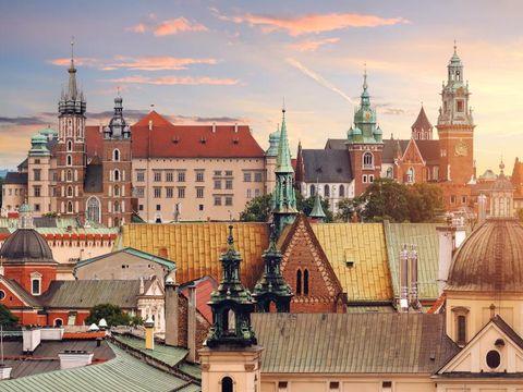 Fly til Krakow