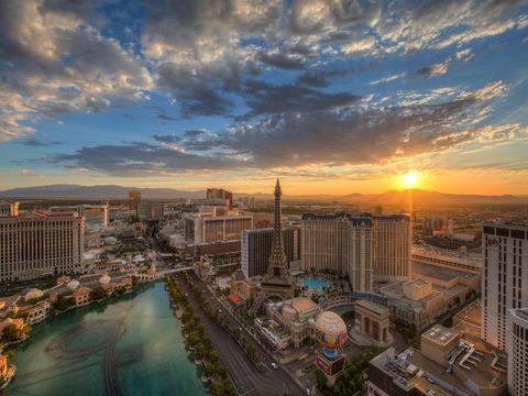 Flybilletter til Las Vegas