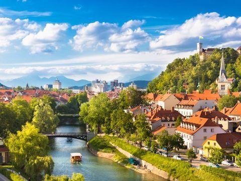 Flybilletter til Ljubljana