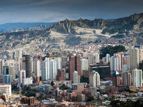 Fly til La Paz