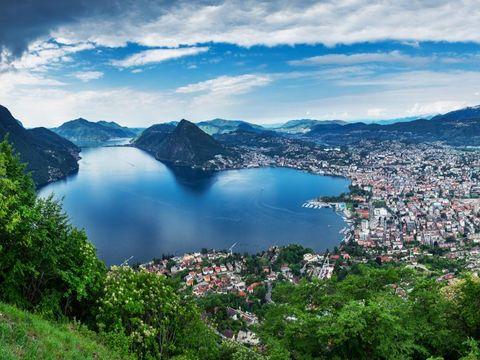Flybilletter til Lugano