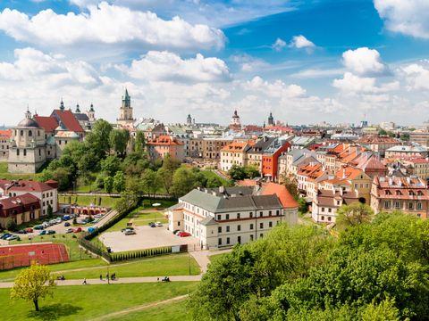 Flybilletter til Lublin