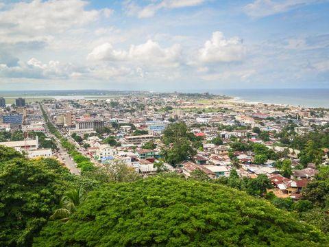 Flybilletter til Liberia