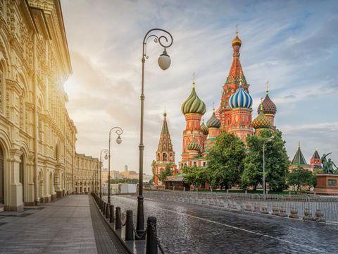 Flybilletter til Moskva