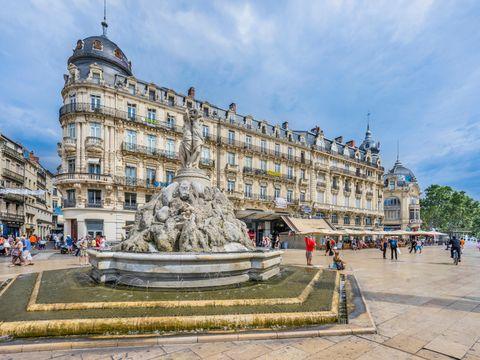 Flybilletter til Montpellier