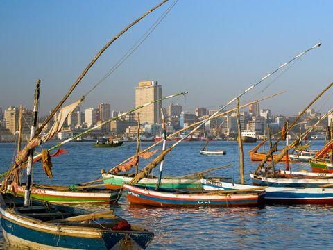 Flybilletter til Mosambik