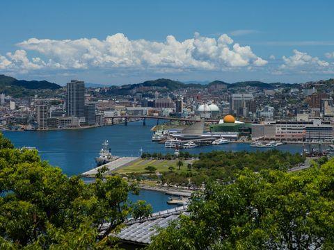 Flybilletter til Nagasaki