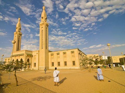 Flybilletter til Mauritania