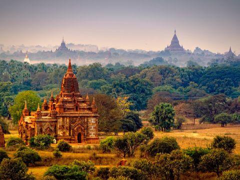 Flybilletter til Bagan