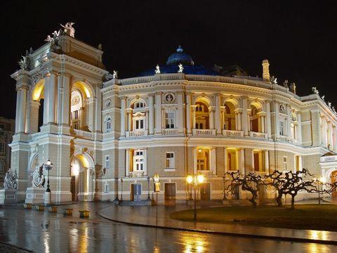 Flybilletter til Odessa