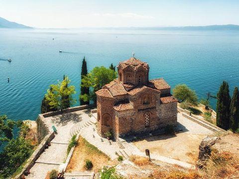 Fly til Ohrid