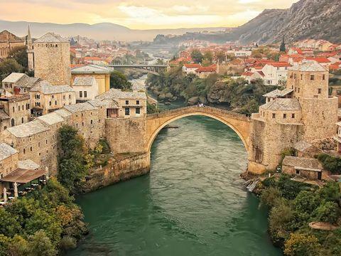 Flybilletter til Mostar