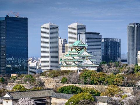 Flybilletter til Osaka