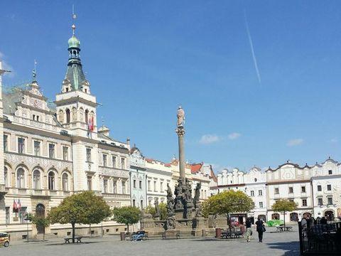 Flybilletter til Pardubice