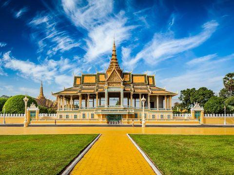 Flybilletter til Kambodsja